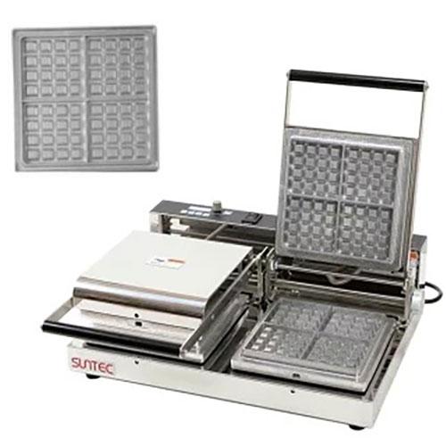 マルチベーカー MAX-2 ワッフル角型1個取 MAX-2-WFS0101 幅540×奥行455×高さ195(mm)/業務用/新品/小物送料対象商品