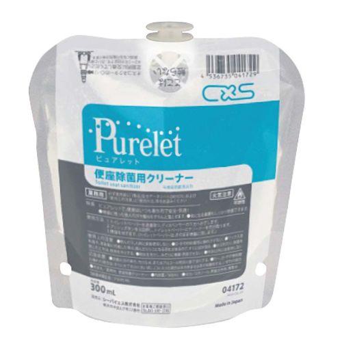 シーバイエス 便座除菌クリーナー ピュアレット 300ml(6ヶ入) /業務用/新品 /テンポス