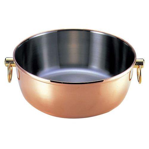 ロイヤルクラデックス 銅メッキ しゃぶしゃぶ鍋CQCW-300C・SC兼用蓋 幅318(mm)/業務用/新品/小物送料対象商品