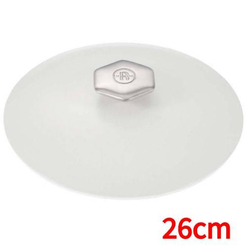 レヴォル レヴォリューション2 ラウンドココット(サテンホワイト蓋) 26cm 649856 高さ145(mm)/業務用/新品/小物送料対象商品