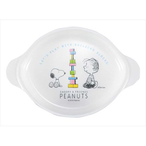 子供食器 スヌーピー 小皿 CB-34 111235 幅166×奥行112×高さ30(mm)/業務用/新品/小物送料対象商品