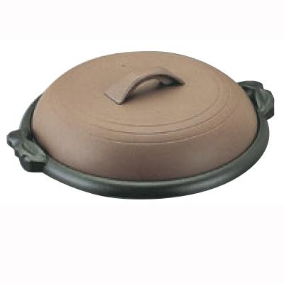陶板 アルミ 陶板焼 素焼き茶 M10-541 横綱 合金