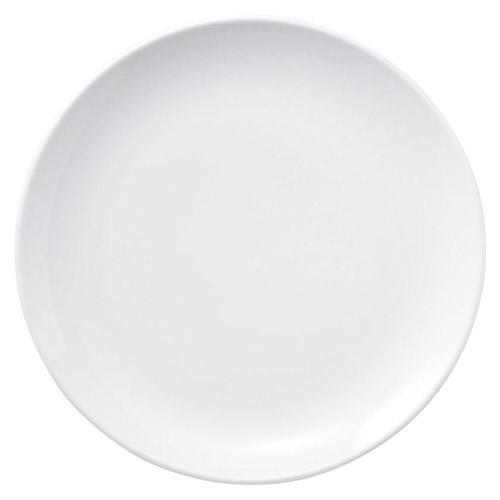 プリーマホワイト 14吋メタ丸皿/業務用/新品