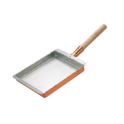 玉子焼 27cm 関西型 銅製 EBM 【 業務用 】【送料無料】 /テンポス