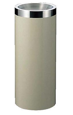 スモーキングスタンドMWー250S 丸型 アイボリー EBM 【 業務用 】【送料無料】