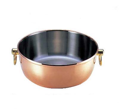しゃぶしゃぶ鍋 CQCWー240C ロイヤルクラデックス 銅【業務用】【送料無料】【プロ用】