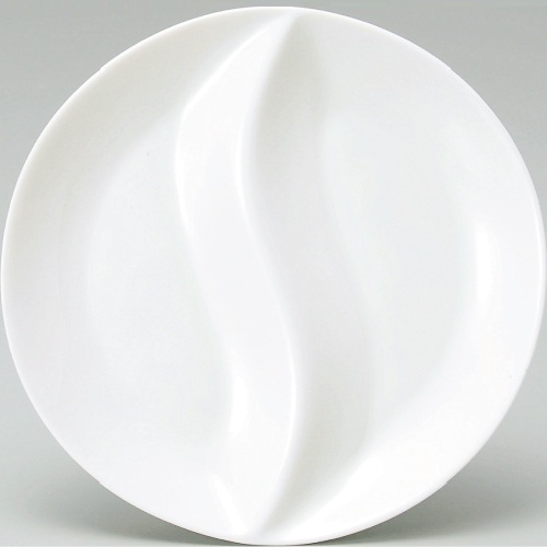 仕切皿 丸仕切皿23cm 丸仕切皿23cm6-70-2 引出物 洋食器 テンポス 業務用 35%OFF 新品