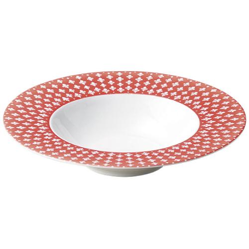 クレスト レッド 26.5cm ディープスープスープ碗/洋食器/業務用/新品/小物送料対象商品