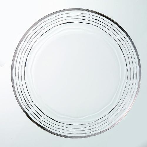 ガラスプレート オアシ プレート28 プラチナ 6入