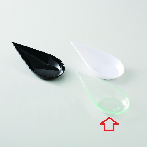 使い捨て パーティースプーン 雫型スプーン 105 クリアグリーン 40個 105 高さ30mm×長さ:105・幅:505入/業務用/新品/小物送料対象商品
