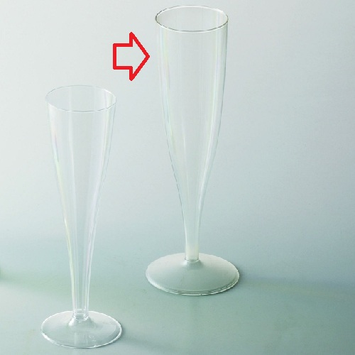 使い捨て パーティーグラス シャンパーン クリア135 150個入/業務用/新品/小物送料対象商品