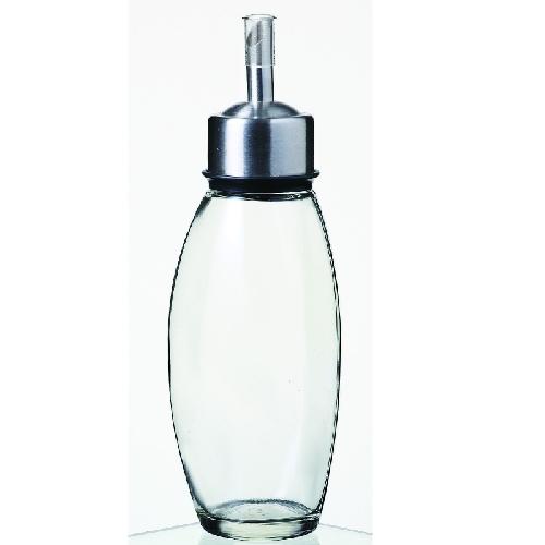ヴィネガーボトル オイル&ヴィネガー ブラック8629 8629 高さ185mm×直径:30・最大径:6148入/業務用/新品/小物送料対象商品