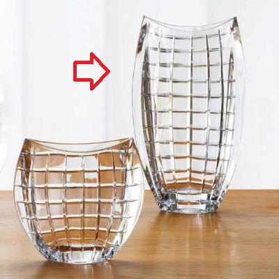 花器 花器L BOHEMIA 高さ305 口径:145-100、最大:180/業務用/新品/小物送料対象商品