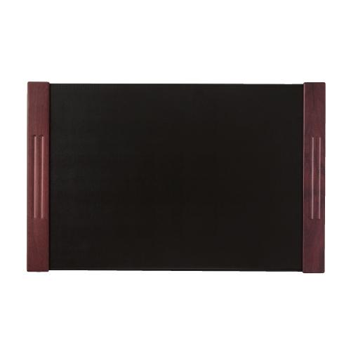 シンビ デスクマット 黒 HR-1060-黒 幅670mm×高さ430mm/業務用/新品/小物送料対象商品