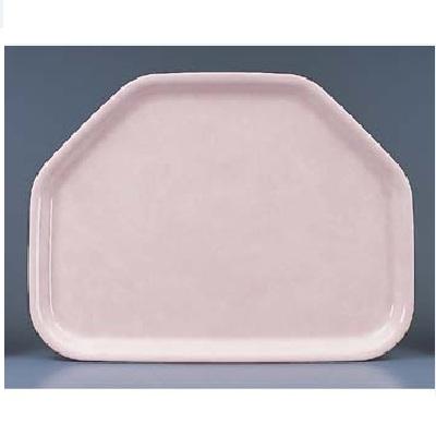 お盆 FRPトレー 六角盆 世界の人気ブランド 高額売筋 ピンク 幅450mm×奥行340mm×高さ20mm 新品 テンポス 業務用