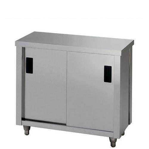 調理台 【東製作所】【AC-900L】【幅900×奥行900×高さ800mm】【送料別】【業務用】【新品】 /テンポス