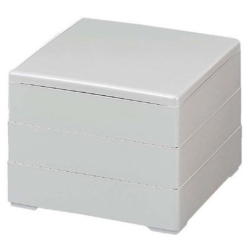 お正月商品 人気商品 お重箱 6.5寸 彩重 新品 3段 業務用食器 市販 ホワイトパール
