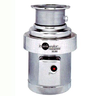 日本エマソン 生ゴミ処理機 5Kgタイプ(150~300人/1食) ディスポーザー SS-200-33 【送料無料】【業務用/新品】