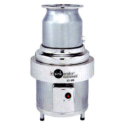 衛生用品 上質 衛生機器 その他衛生機器 送料無料 生ゴミ処理機 大規模セール 業務用 日本エマソン 新品 SS-300-24 300~500人 8Kgタイプ mm 直径300×高さ603から790 ディスポーザー 1食