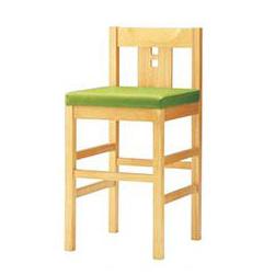 CRES(クレス) 和風カウンター椅子 【ユズカウンター】 張地ランクA /(業務用カウンターチェア/新品)(送料無料) /テンポス