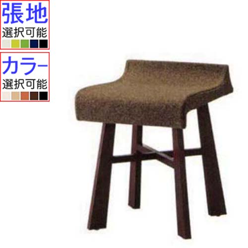 QUON(クオン) 椅子(イス) 波イス 張地ランクA 幅380×奥行465×高さ515 【業務用/新品】【送料無料】【プロ用】