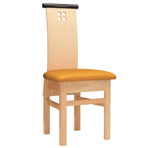 【夕凪 N 椅子 Aランク】 木製イス 幅400×奥行510×高さ900(mm)【業務用】【新品】【送料無料】 /テンポス
