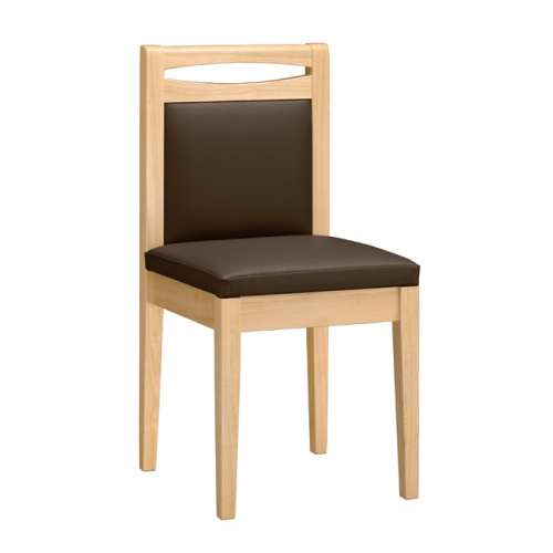 【根室 N 椅子 Aランク】 木製イス 幅370×奥行410×高さ780(mm)【業務用】【新品】【送料無料】