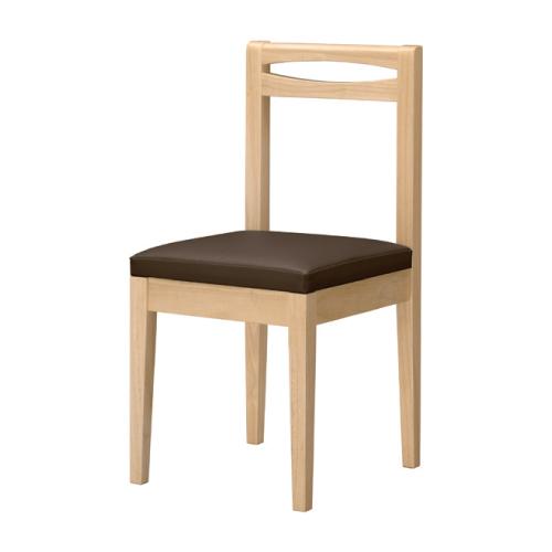 【利尻 N 椅子 Aランク】 木製イス 幅370×奥行410×高さ780(mm)【業務用】【新品】【送料無料】