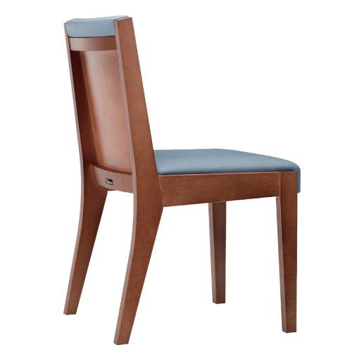 【ビアンコ K 椅子 Aランク 】 木製イス 幅420×奥行530×高さ800(mm)【業務用】【新品】【送料無料】