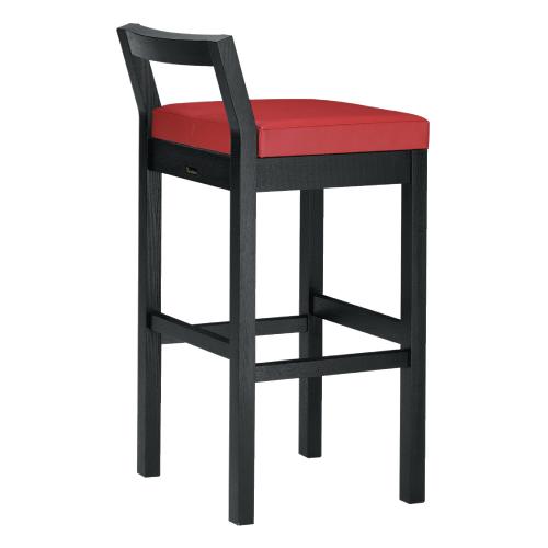 【隼人 B スタンド椅子 張地レザー】 幅380×奥行460×高さ870(mm)【業務用】【新品】【送料無料】