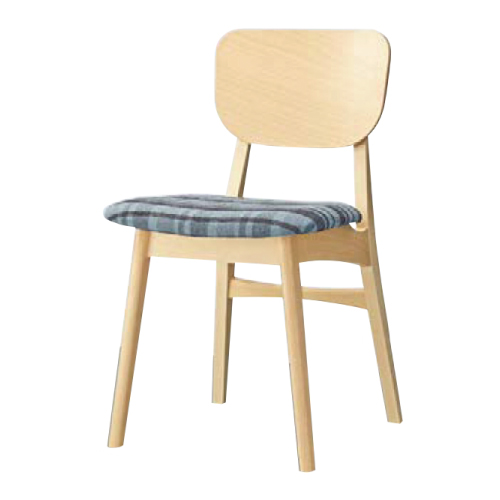 【グロースイスNA Aランク】木製イス 幅430×奥行495×高さ770(mm)【業務用】【新品】【送料無料】