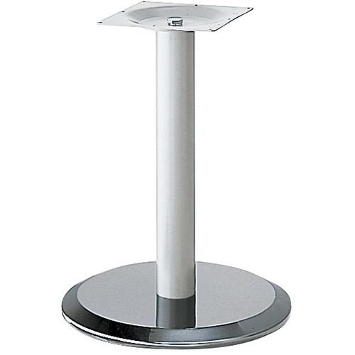 プロシード(丸二金属) テーブル脚 TABLE LEG 丸ベース AT160-C ベース500φ ポール101φ 受座角300(mm) 業務用 送料無料 テンポス