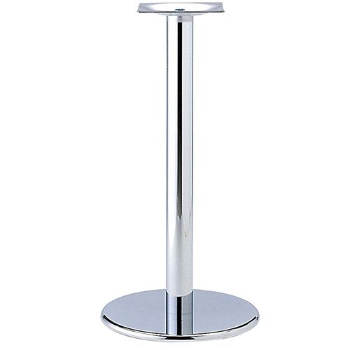 プロシード(丸二金属) テーブル脚 TABLE LEG ハイテーブル用 AT251-A ベース400φ ポール76φ 受座角240(mm) 業務用 送料無料 テンポス