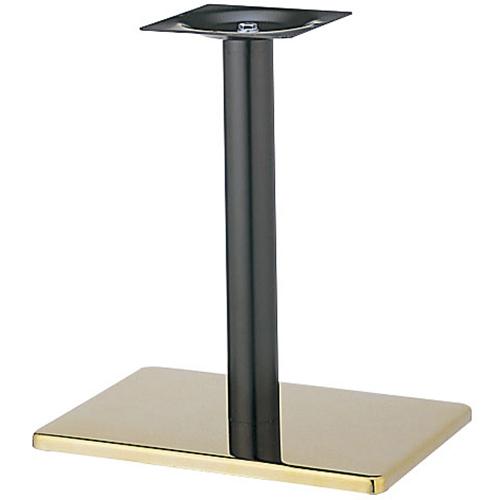 プロシード(丸二金属) テーブル脚 TABLE LEG 角ベース BT307-R ベース角450×450 ポールφ76 受座角240(mm) 業務用 送料無料 テンポス