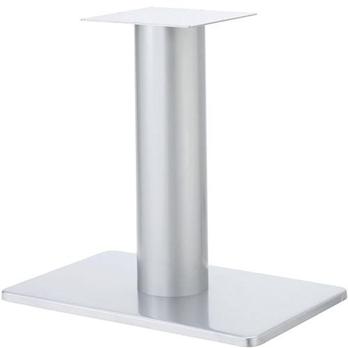 プロシード(丸二金属) テーブル脚 TABLE LEG 角ベース BT321-N ベース角680×450 ポールφ165 受座角300(mm) 業務用 送料無料 テンポス