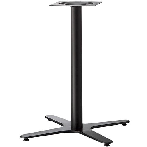プロシード(丸二金属) テーブル脚 TABLE LEG 十字ベース FT725-G ポールφ60 受座角240(mm) 業務用 送料無料 テンポス