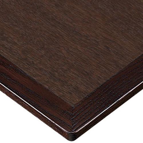 プロシード(丸二金属) テーブル天板 メラミン化粧板(木ブチ) ST941-BR-M 幅1200×奥行750×高さ20×厚み20(見附28)(mm) 業務用 送料無料 テンポス