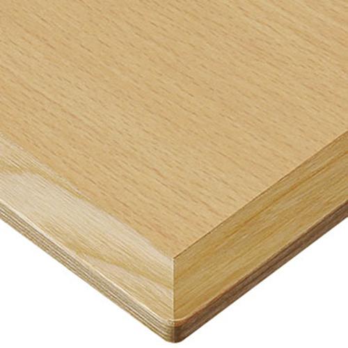 プロシード(丸二金属) テーブル天板 メラミン化粧板(木ブチ) ST941-NA-M 幅1200×奥行750×高さ20×厚み20(見附28)(mm) 業務用 送料無料 テンポス