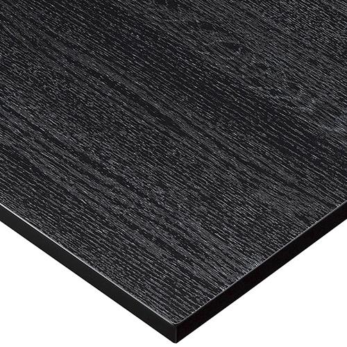 プロシード(丸二金属) テーブル天板 メラミン化粧板MDF(木口塗装) ST942-BL-N 幅600×奥行750×高さ23(mm) 業務用 送料無料 テンポス