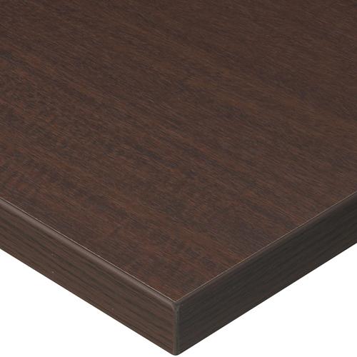 プロシード(丸二金属) テーブル天板 メラミン化粧板(ABSエッジ) ST947-BR-N 幅600×奥行750×高さ30(mm) 業務用 送料無料 テンポス