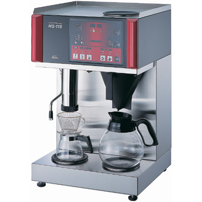 【業務用】コーヒーマシン 1から15カップ用 水道直結型 W400×D380×H630から650mm【HG-115】【カリタ】【送料無料】【プロ用】
