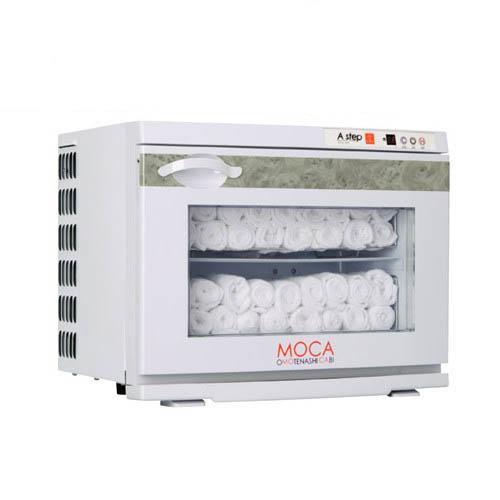 タオルウォーマー17L 60~80本収納 温蔵&冷蔵切替型 アステップ MOCA CHC-17F 【業務用/新品】【送料無料】【プロ用】 /テンポス