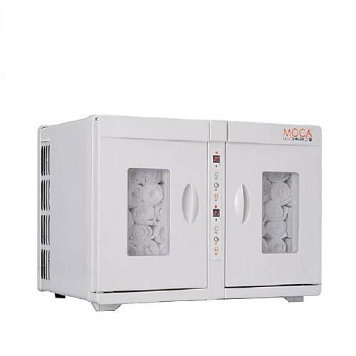 タオルウォーマー16L 50~70本収納 温蔵&冷蔵切替型 アステップ MOCA CHC-16WF 【業務用/新品】【送料無料】【プロ用】 /テンポス