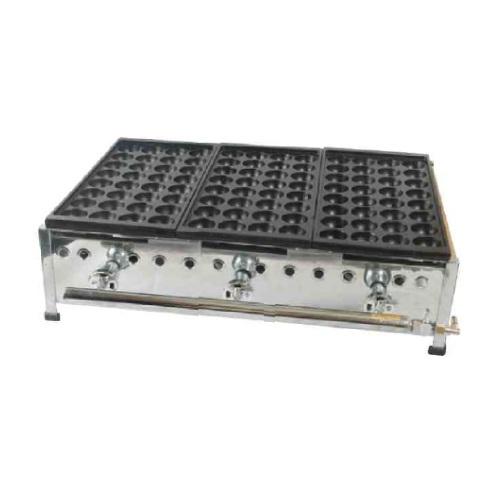 IKK 伊東金属 イトキン たこ焼き器 32穴 鉄鋳物 送料無料 3連 プロ用 新品 テンポス 定番から日本未入荷 高級 業務用