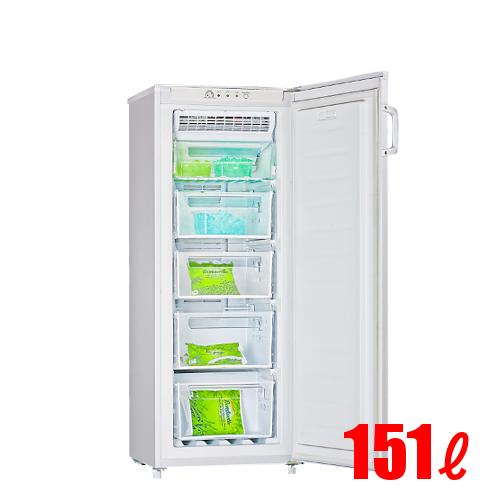 【業務用】ノーフロスト 冷凍ストッカー 冷凍庫 151L アップライトタイプ(前扉タイプ) FFU155RFA 幅555×奥行560×高さ1440 【送料無料】【プロ用】