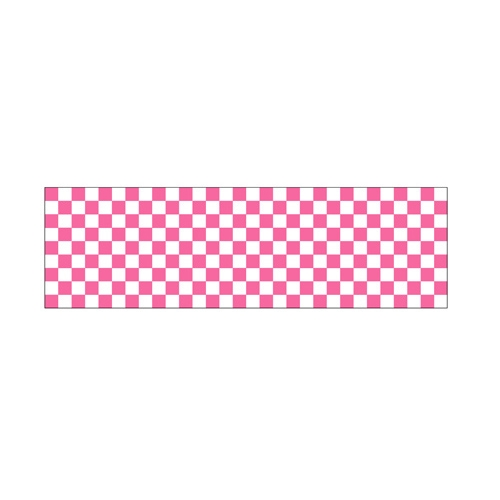 ロール幕「 市松 ピンク」のぼり屋工房 3845/業務用/新品 /テンポス