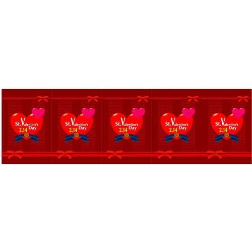 ロール幕「 バレンタイン」のぼり屋工房 3876/業務用/新品/小物送料対象商品