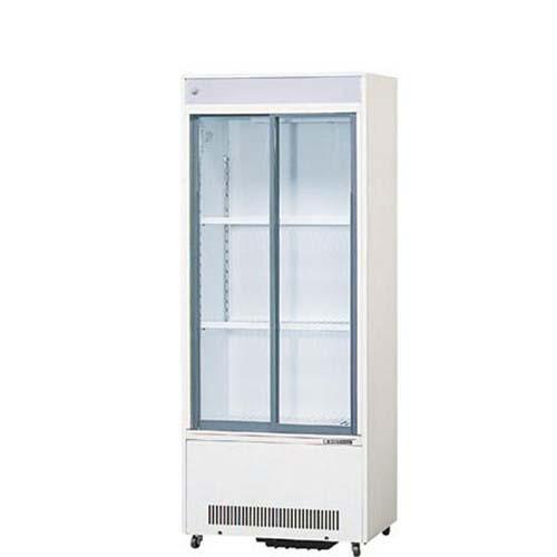 【冷蔵ショーケース】【サンデン】標準型冷蔵ショーケース スライド扉タイプ 154L【MUS-84XE(旧型式:MUS-84XC)】幅590×奥行400×高さ1473mm【送料無料】【業務用】【プロ用】