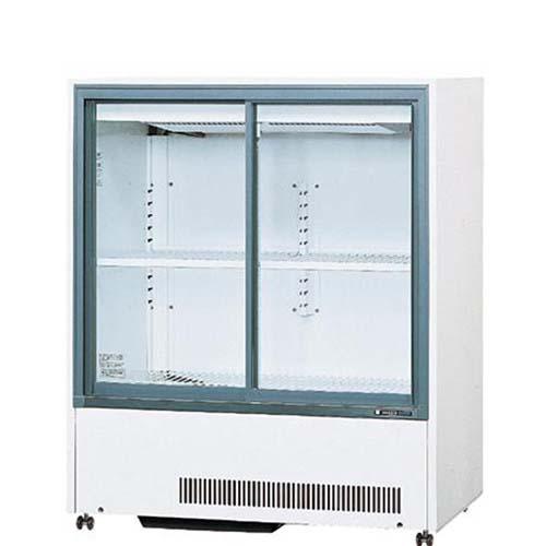 【冷蔵ショーケース】【サンデン】標準型冷蔵ショーケース スライド扉タイプ 236L【MU-330XE(旧型式:MU-330XB)】幅900×奥行550×高さ1085mm【送料無料】【業務用】【プロ用】