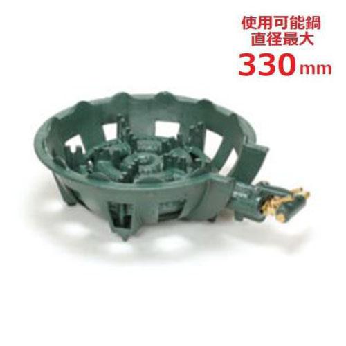 【業務用/新品】 タチバナ製作所 ガスバーナー 鋳物コンロ 特殊二重 5940kcal/h TS-260 【送料無料】